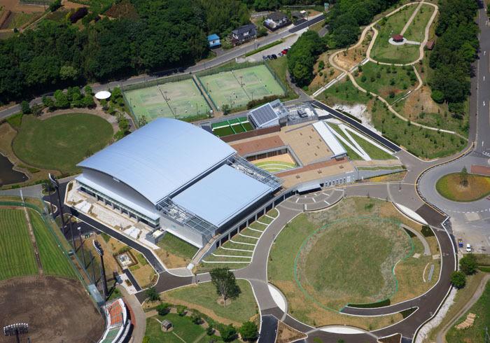 Matsuyamashita Park General Gymnasium